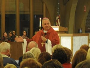 Bishop Perez at Fr. Pete's Installation
